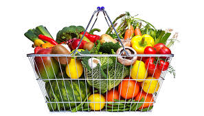 healthy diet with fruits and vegetables